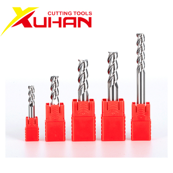 HRC55 3 Flute carbide End mill Aluminum Copper Wood Cutter Endmills Cnc Milling Tools Tungsten Steel Milling Cutter EndMill 3f 12 hrc50 carbide square flatted end mill 3flute milling cutter for aluminum endmill tools carbide cnc end mill router bits