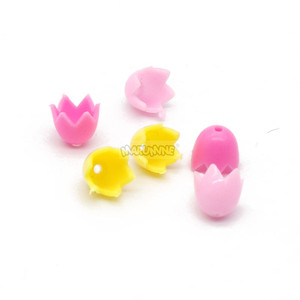 Image 3 - Marumine チューリップ市部分 50 個春の花茎草の花クラシックレンガ建設知育玩具