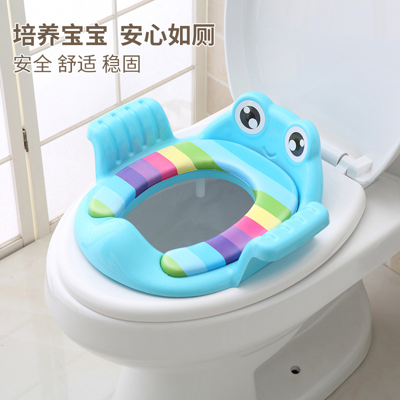 Large Size Infant Child Toilet Seat Pedestal Pan Anti-slip Baby Nursery Kids GIRL'S And BOY'S Toilet Seat Cushion Potty Cover