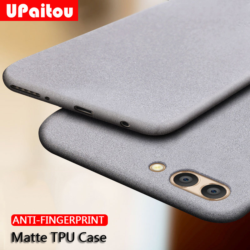 UPaitou <font><b>Case</b></font> for Huawei <font><b>Honor</b></font> Mate 30 20 10 9 8 Lite Pro 10i <font><b>20i</b></font> Anti Fingerprint <font><b>Case</b></font> Soft Matte Thin TPU Cover for Mate30 <font><b>Case</b></font> image
