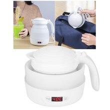 Складной электрический чайник с цифровым дисплеем температуры