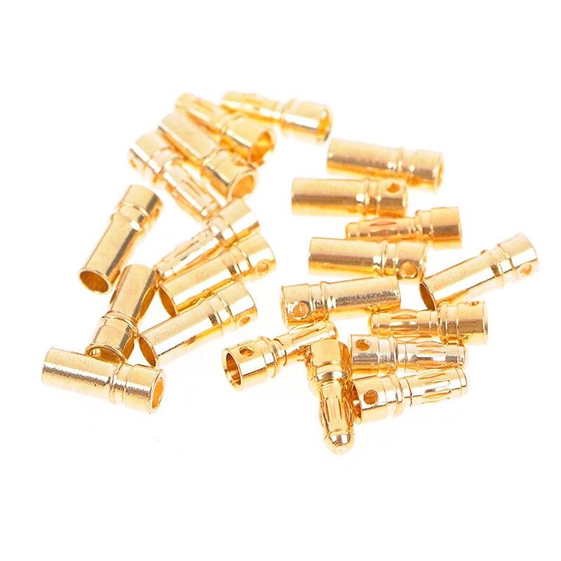 10 paires 3.5mm plaqué or balle banane connecteur pour RC moteur batterie mâle + femelle connecteur