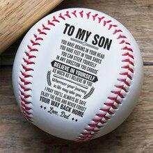 High quality Handmade Baseballs PVC Rubber Inner Soft Baseball Balls Softball Ball Training Exercise Baseball Balls