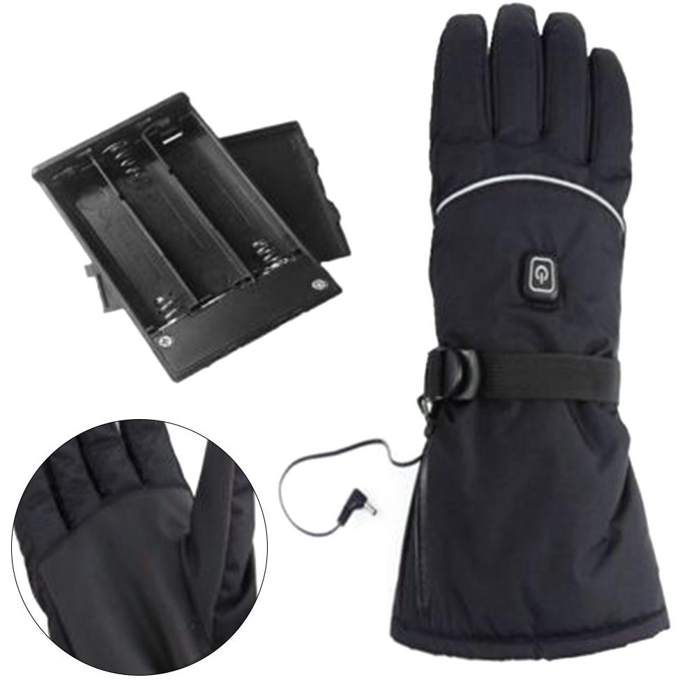 3 Levels Temperature Control Hand Warmer For Skiing Cycling Riding Ski Without Battery Heated Gloves Electric Winter Warm Glove