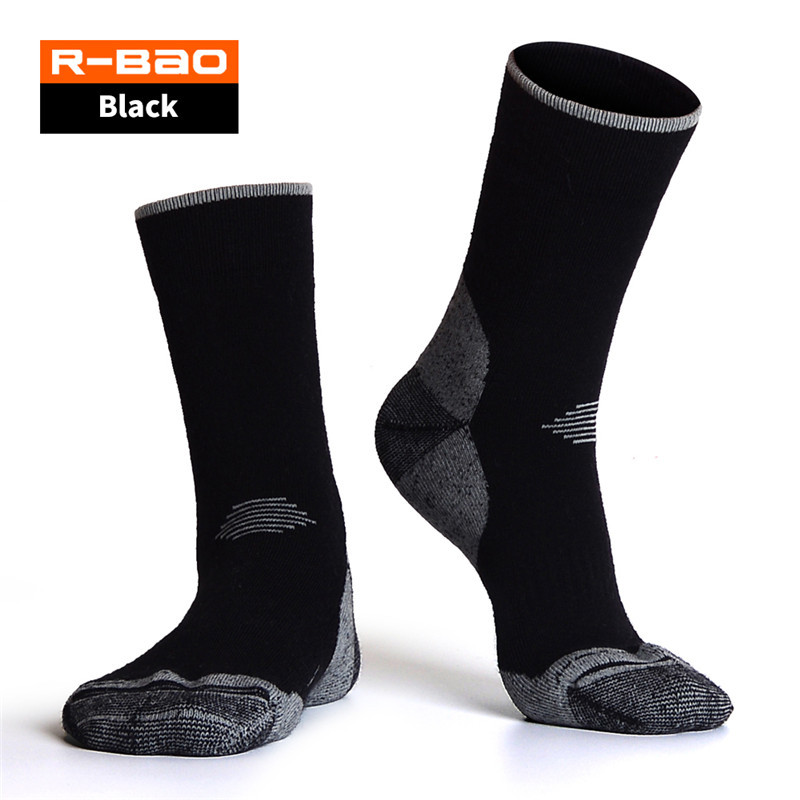 Outdoor Socks Thermal Winter Merino Wool Socks Alaska Thick Warm Ski Hiking Camping Socks Men L