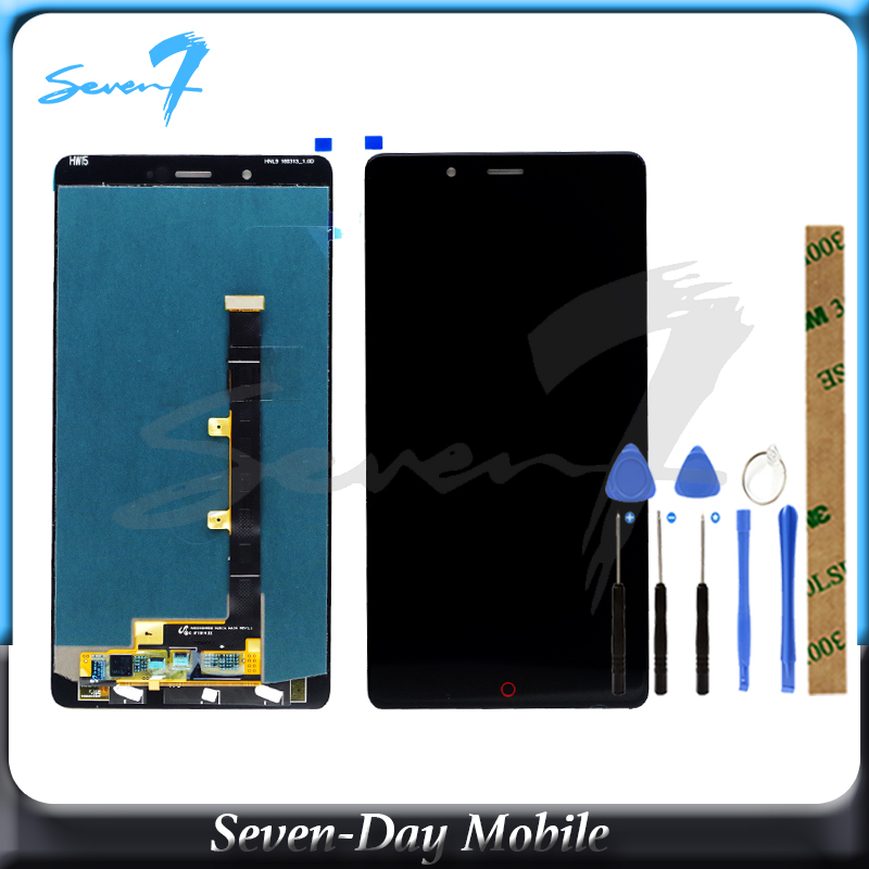 100% Tested Lcd For ZTE Nubia Z11 Max Nubia NX523J NX535J LCD Display Screen Digitizer Touch Panel LCD Assembly