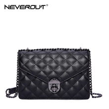 NEVEROUT Sheepskin Small Flap Crossbody Bags Classic Quilted Fashion Shoulder Bag Women Messenger Luxury Real Leather