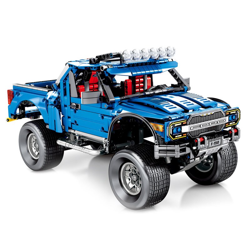 In Stock 701970 1288pcs  The F-150 Raptor Pickup Model Technic Series Building Blocks Brick Children's Christmas Gift