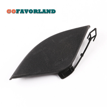 Unpainted Front Bumper Tow Hook Cover Cap 51117222744 For BMW E70 X5 2011 2012 2013 image