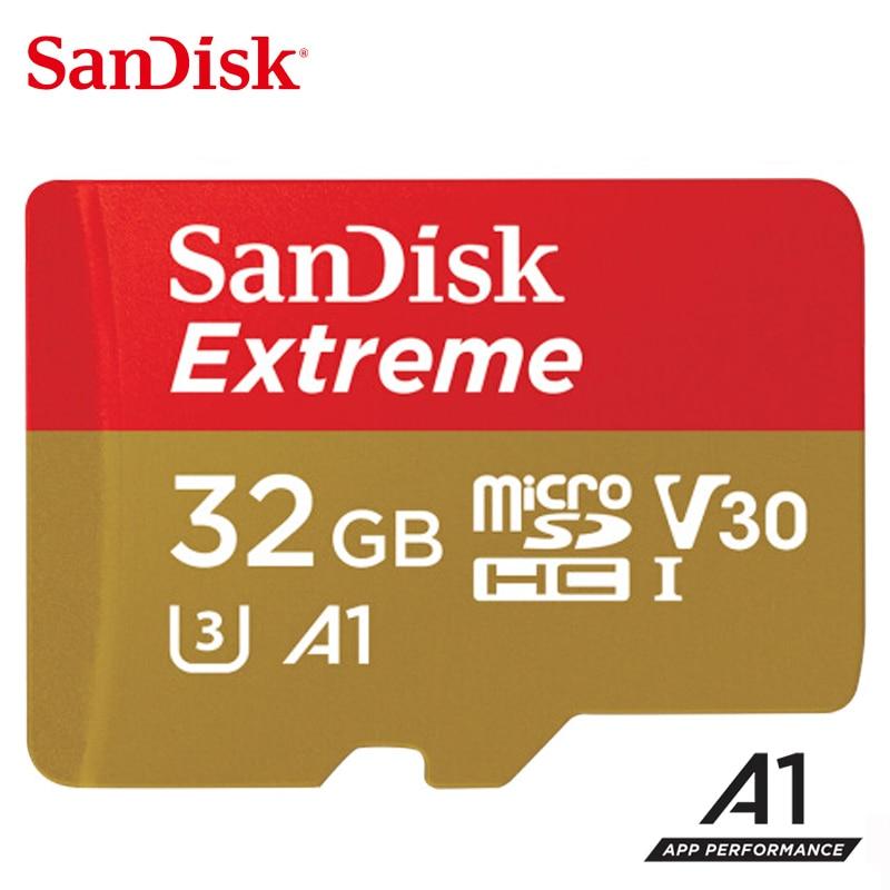 SanDisk Оригинальная карта Micro SD A2, 400 Гб 256 ГБ 128 Гб 64 Гб A1 32 ГБ, карта Menory Extreme Ultra micro SD 4K V30 TF флэш-карта-1