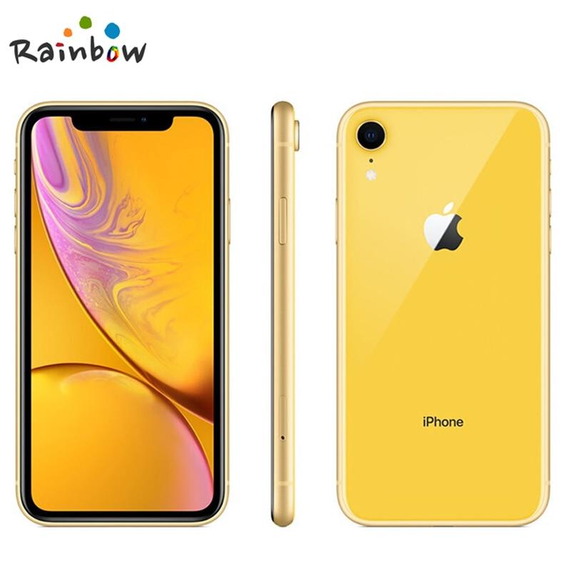 Разблокированный оригинальный Apple iPhone XR | Безрамочный ЖК-дисплей 6,1 дюйма, 64 ГБ/128 ГБ/256 Гб ПЗУ, 4G Lte, Смартфон Apple