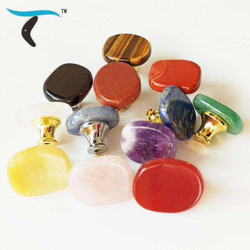 Скандинавская чакра рейки кристаллы натуральный камень шкаф обувной дверной ящик ручки подарочная шкатулка украшение ручка мебель Ручки шкафа      АлиЭкспресс