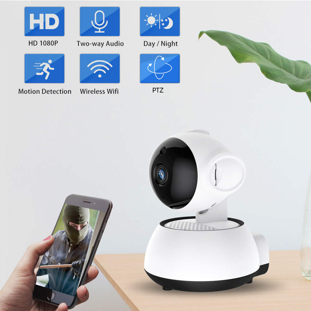 FEISDA Wifi Camera 1080P Home Security Wireless Cctv Camera Audio Record Surveillance Baby Monitor HD Mini IP Indoor Camera
