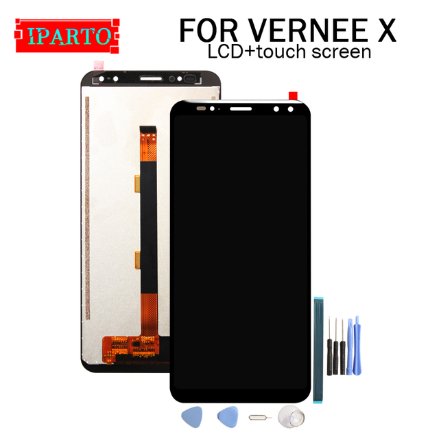 6.0 inch VERNEE X LCD Display+Touch Screen Digitizer Assembly 100% Original New LCD+Touch Digitizer for VERNEE X+Tools