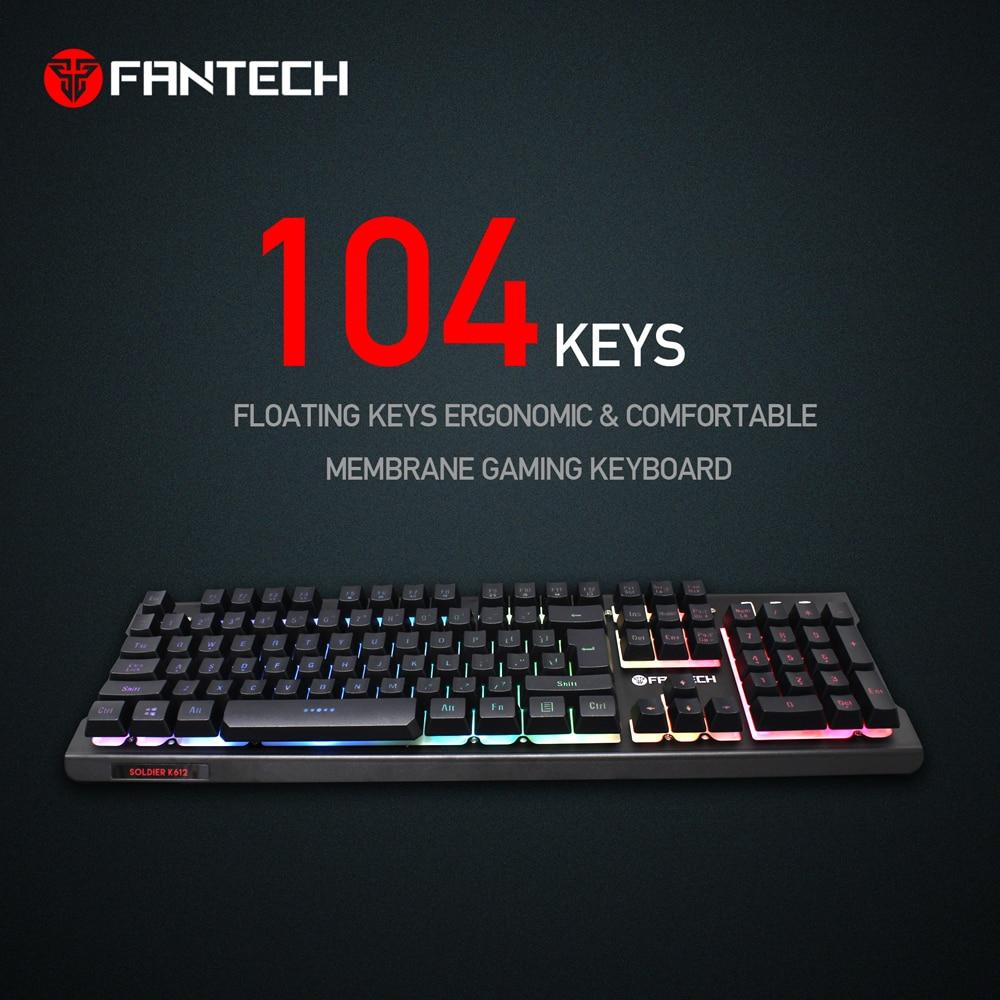 Fantech K612 Soldier RGB Gaming Keyboard 4