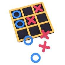 1PC interazione genitore-figlio gioco da tavolo per il tempo libero OX scacchi Eveloping gioco educativo intelligente per bambini