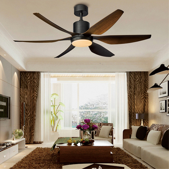 Vantage ceiling fan with lights remote control fans 54inch 66 inch frequency conversion DC motor silent six blades dropshipipng