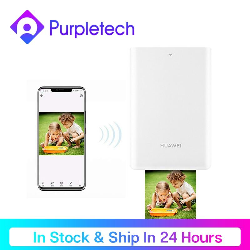 Original Huawei Pocket Photo Printer HUAWEI Zink Portable Photo Printer AR Printer 300dpi Bluetooth 4.1 Support DIY 500mAh