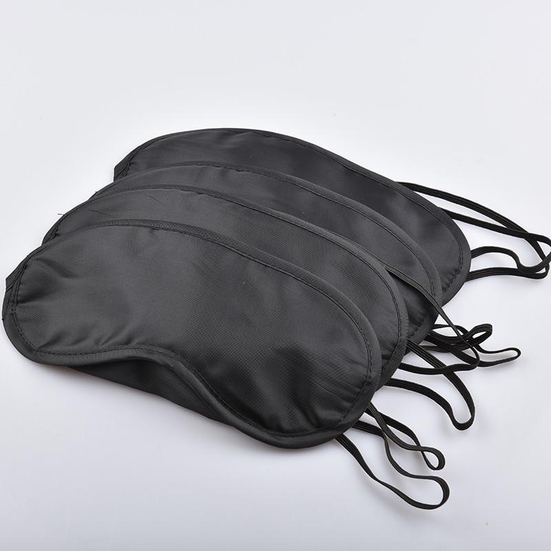 5Pcs/lot Gift Travel Sleep Mask Fast Sleeping Eye Mask Eyeshade Cover Shade Patch Women Men Soft Portable Blindfold Travel