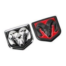 Металлическая 3d наклейка на голову для автомобиля, декоративная наклейка на голову для Dodge Ram, Аксессуары для автомобилей