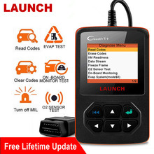 Lançamento creader v + obd2 scanner motor leitor de código profissional dtc vários idiomas ferramenta automotivo diagnóstico do carro automóvel
