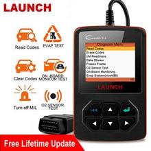 Startowy Creader V + skaner OBD2 profesjonalny czytnik kodów DTC wiele języków Auto Car Diagnostic narzędzie motoryzacyjne