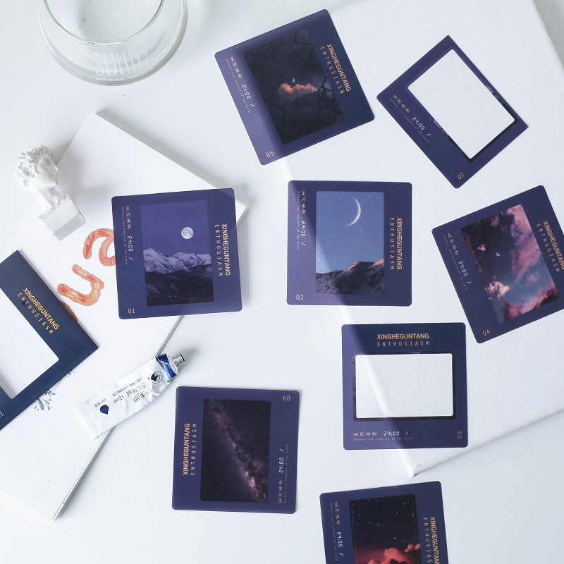 40 Pcs/pack World Fireworks Series Journal Decorative PVC Stickers Scrapbooking Stick Label Diary Stationery Album Stickers