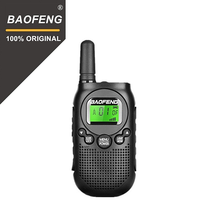 2020 Newest License-Free BAOFENG  BF-T6  Two Way Radio FRS Walkie Talkie Mini Kids Handheld Woki Toki Toy