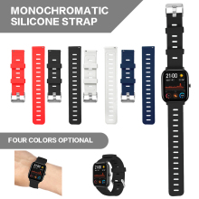Pohiks 20mm Silicone Sport Replacement Strap Watch Band For Xiaomi Huami Amazfit GTS for Accessorie