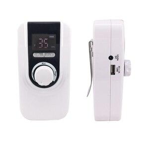 Image 3 - 新デザインの多機能35000rpm充電式ポータブル電気ネイルドリルマシンマニキュアペディキュアセット爪ツール