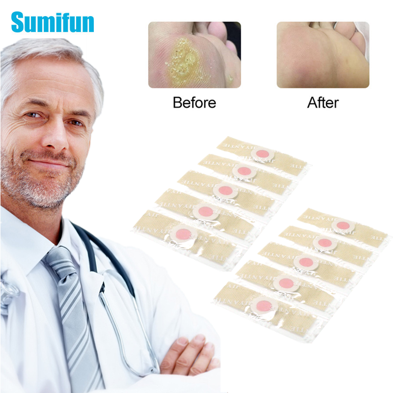 12/24/36/60 Pcs Calluses Patch Foot Care Medical Plaster Foot Corn Removal Warts Thorn Pain Relief Patch Toe Protector Stickers