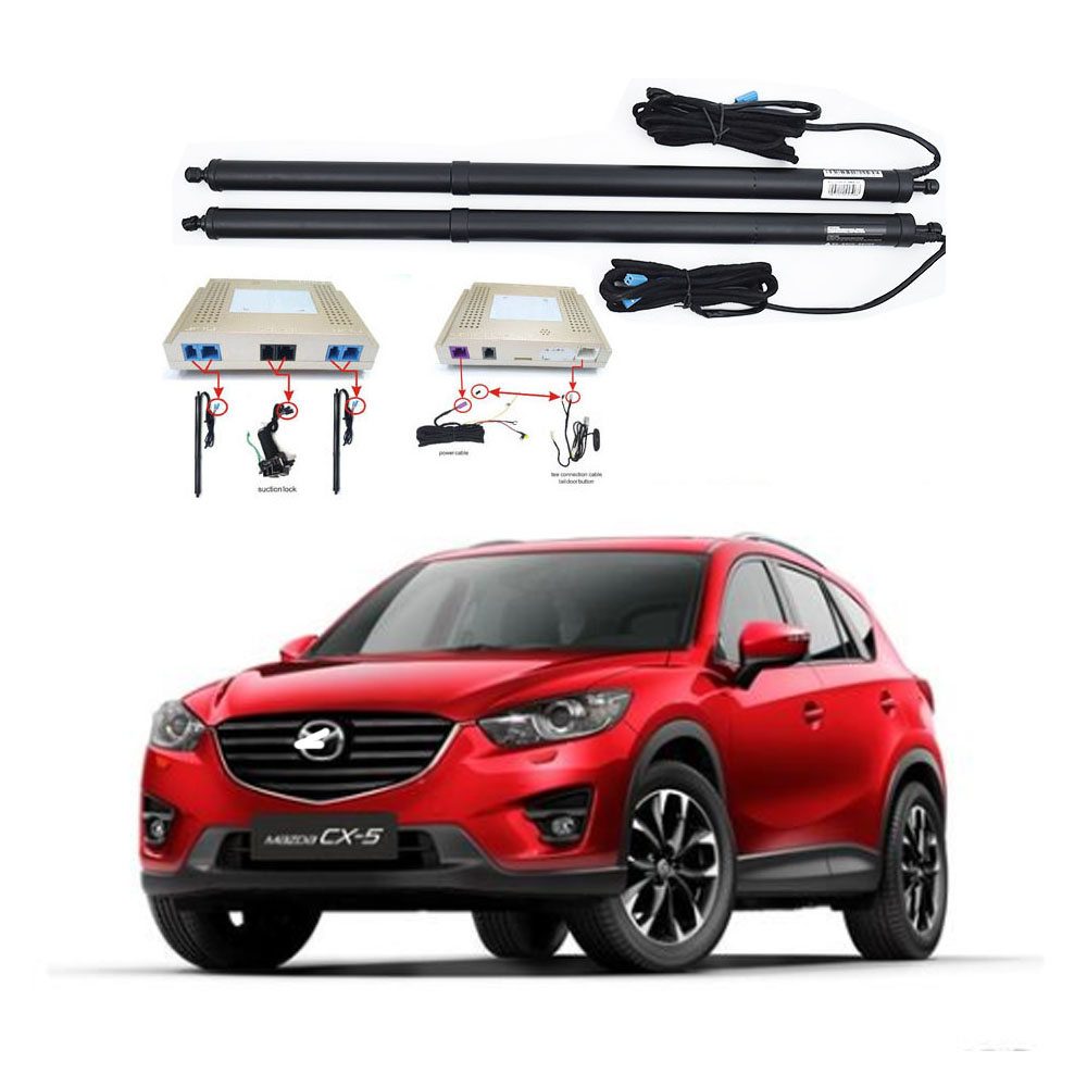 New Electric Tailgate Refitted For MAZDA CX-5 2012 -2020 Tail Box Intelligent Electric Tail Door Power Tailgate Lift Lock