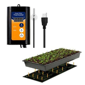 Seedling heat mat waterproof plant seed germination spread clone starter pad warm hydroponic heating pad garden supplies