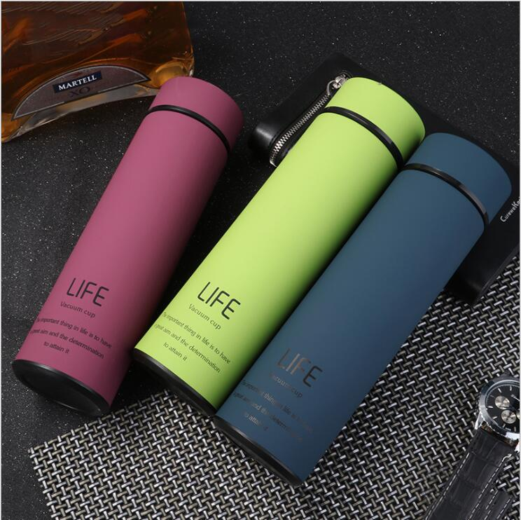 ZORRI 350/500ML Thermos Double Wall Stainless Steel Vacuum Flasks Thermos Cup Coffee Tea Milk Travel Mug Thermo Bottle Thermcup|Water Bottles|   - AliExpress