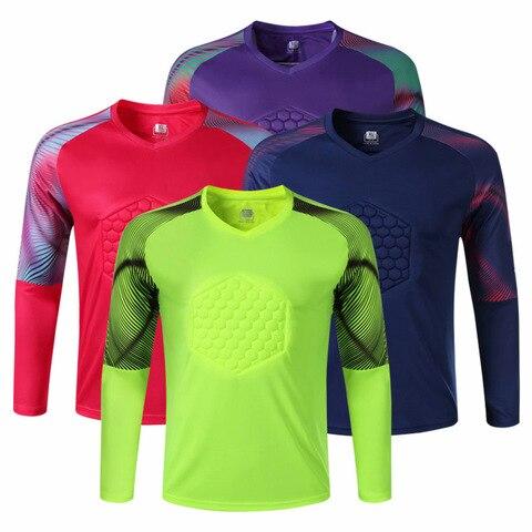 Camisa de Basquete + Calças de Treinamento de Esportes ao ar Roupas de Futebol para Mulheres dos Homens Grosso Respirável Goleiro Terno Manga Longa Livre
