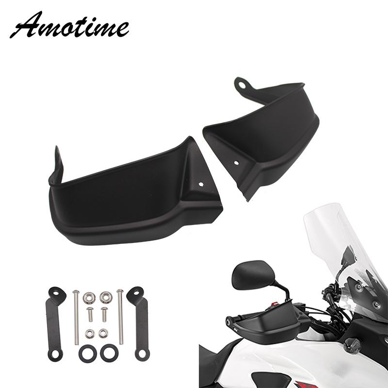Motorcycle Brush Handle Bar Hand Guard Handguard Shell Wind Shield Cover Protector for Honda XL125V XL 125 V Varadero XL125 V image