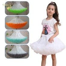 Tutu-Skirt Ballerina Fluffy Children for Party Dance Princess-Girl Baby-Girls