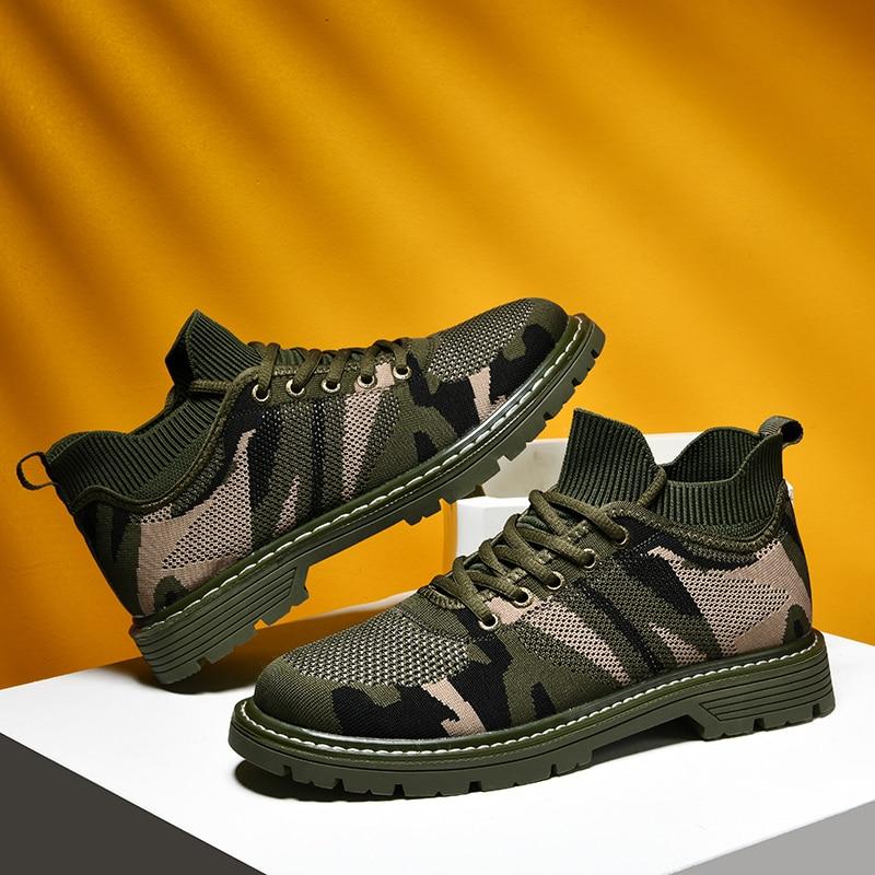 Unisex Tennis Shoes for Men Camouflage
