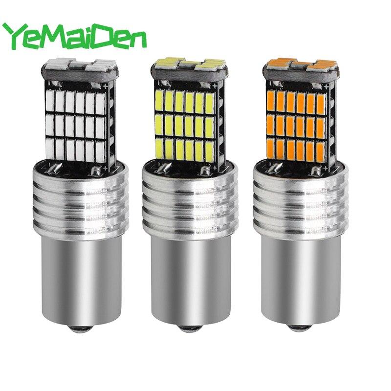 1x Ba15s 1156 1157 Bay15d LED Bulb Canbus No Error Car Trun Signal LED Light Auto Parking Reverse Brake Lamps 12V  6000K 45SMD