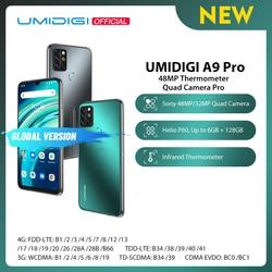 UMIDIGI A9 Pro 32/48MP Quad Camera 24MP селфи камера 6 ГБ 128 Helio P60 Octa Core 6,3 дюймFHD + безрамочный экран Глобальная версия мобильного телефона