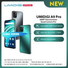 "UMIDIGI A9 Pro 32/48MP 쿼드 카메라 24MP 셀키 카메라 6GB 128GB Helio P60 Octa Core 6.3 ""FHD + 글로벌 버전 핸드폰"