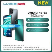 """UMIDIGI A9 Pro Cámara Cuádruple de 32/48MP Cámara Selfie de 24MP 6GB 128GB Helio P60 Ocho Núcleos Pantalla FHD+ de 6.3"""" Versión Global Teléfono"""