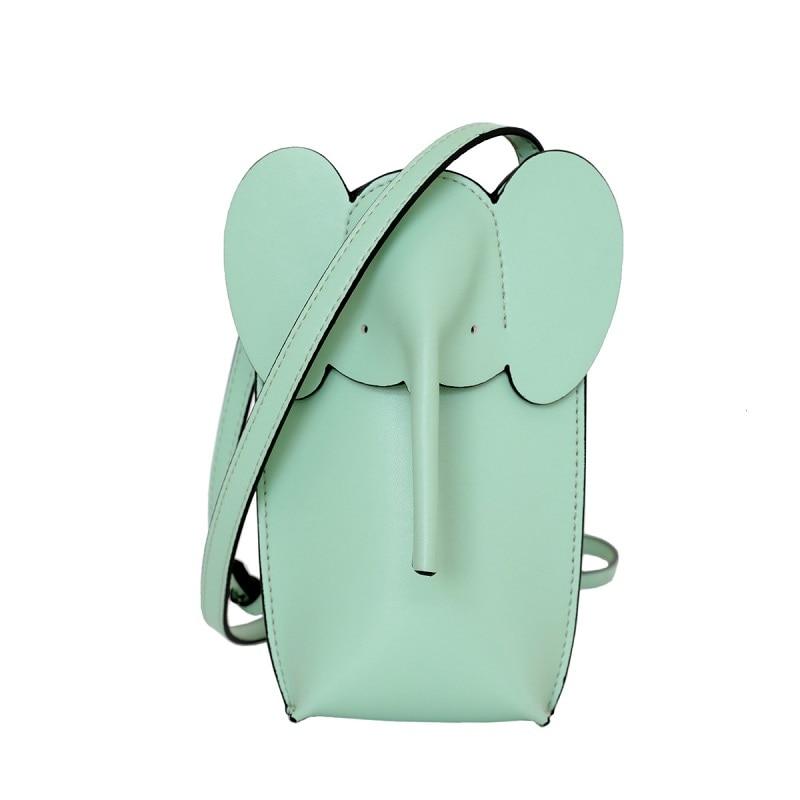 ombro elefante crossbody saco bonito saco lateral