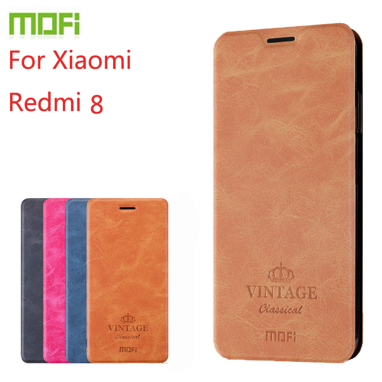 For Xiaomi Redmi <font><b>8</b></font> Case MOFI Flip Leather Stand Case For Xiaomi Redmi <font><b>8</b></font> High Quality PU Leather Cover For Xiaomi Redmi <font><b>8</b></font> image