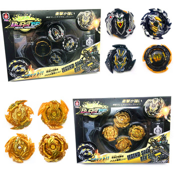 Original Box Beyblade Burst For Sale Metal Fusion 4D With Launcher and arena Spinning Top Set Kids Game Toys