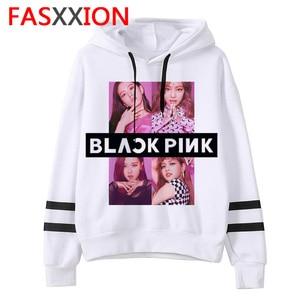 Blackpink kpop sweater kleding vrouwen hip hop roze Hoodies nieuwe Unisex Mode Lange Mouw Truien vrouwelijke ulzzang esthetische(China)