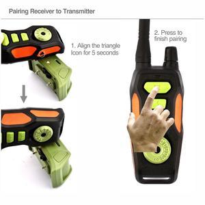 Image 5 - Coleira para animais remota, coleira elétrica de treinamento com controle remoto, recarregável, à prova dágua, com alcance de 800