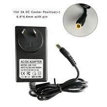 15V 3A pin ile 6.4*4.4mm Ac/Dc adaptörü şarj için Sony SRS X55 SRS BTX500 SRS XB3 taşınabilir bluetoothlu hoparlör güç kaynağı