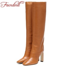 FACNDINLL plus size 34-43 2019 new fashion women over the knee high heels boots shoes woman autumn winter black warm long boots fedonas top fashion women winter over knee long boots women sper thin high heels autumn comfort stretch height boots shoes woman