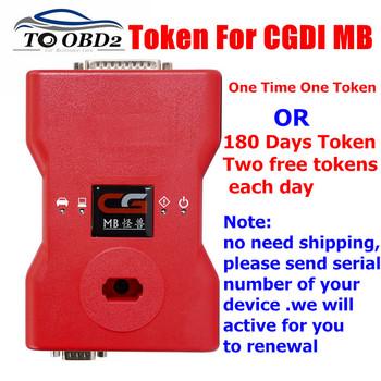 Dodać tokena usługi dla CGDI Prog MB dla Benz programator kluczy samochodowych opcjonalnie 180 dni dwa darmowe żetony każdego dnia lub 1 token 1 raz tanie i dobre opinie toobdpro Auto key programmer Add Token for CGDI Prog MB Tokens Newest Token Service for CGDI Prog MB For Benz Car Key Programmer